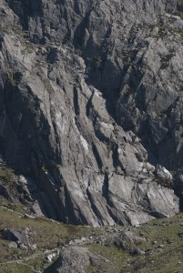 The Amazingly Good Ideal Slabs. A playground for the novice trad climber.