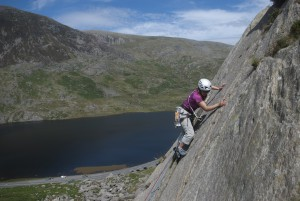 The fantastic Rowan Route on the Milestone Buttress, one of the many classic VDiff's.