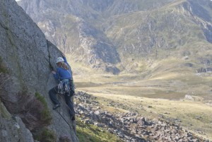 The Super Direct on the Milestone Buttress. A simply stunning HVS. The final pitch of which has the type of exposure that will knock your socks off.